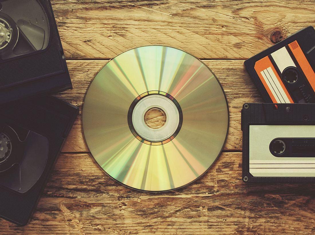 CDs reinigen und Fotos richtig aufbewahren: So retten Sie alte Schätze