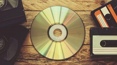 CDs, Videos & Co. richtig pflegen