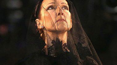 Céline Dion ehrt ihrem verstorbenen Ehemann.  - Foto: Tom Szczerbowski/Getty Images