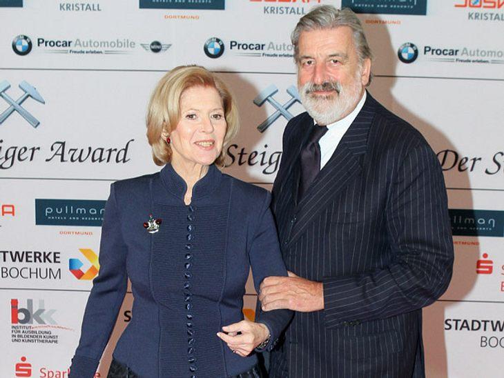 Christiane Hörbiger und Gerhard Tötschinger bei einem Event