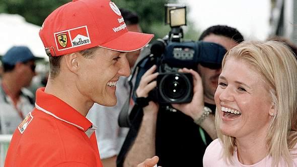 Michael und Corinna Schumacher. - Foto: PAUL CROCK / Getty Images