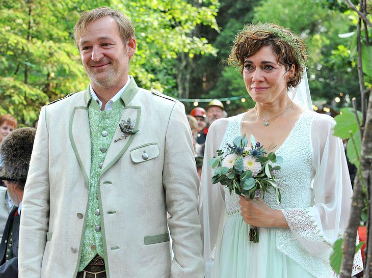 Bei Dahoam is Dahoam steht jetzt Fannys und Gregors Hochzeit an.