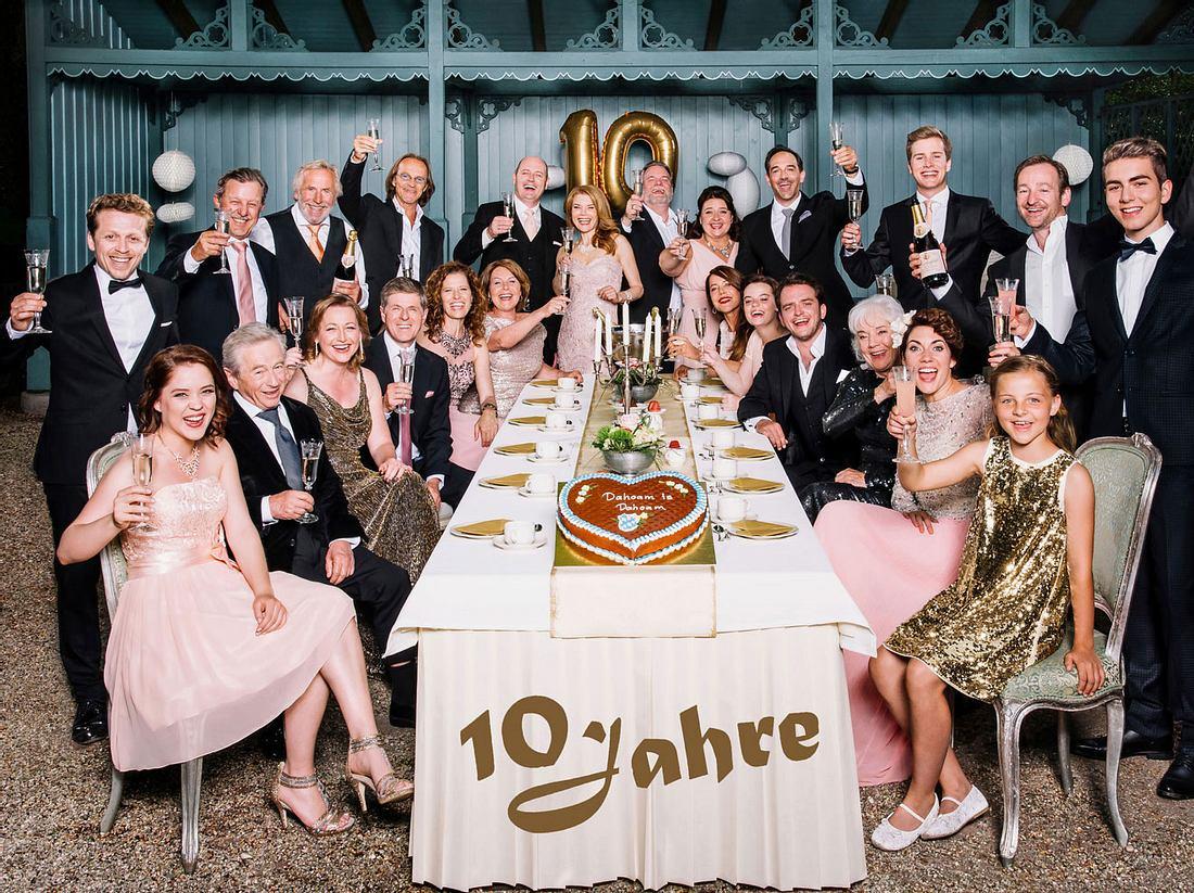Die Serie Dahoam is Dahoam feiert 10. Geburtstag.