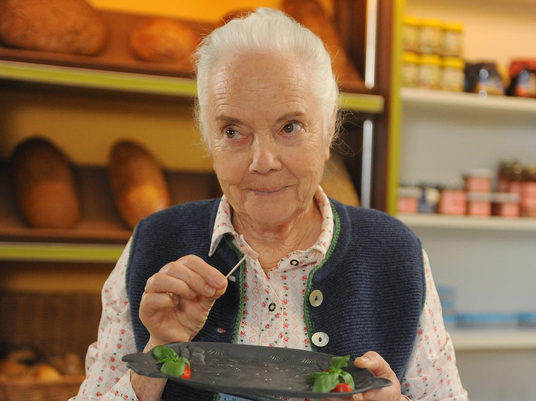 'Dahoam is Dahoam'-Star Theresa Brunner.