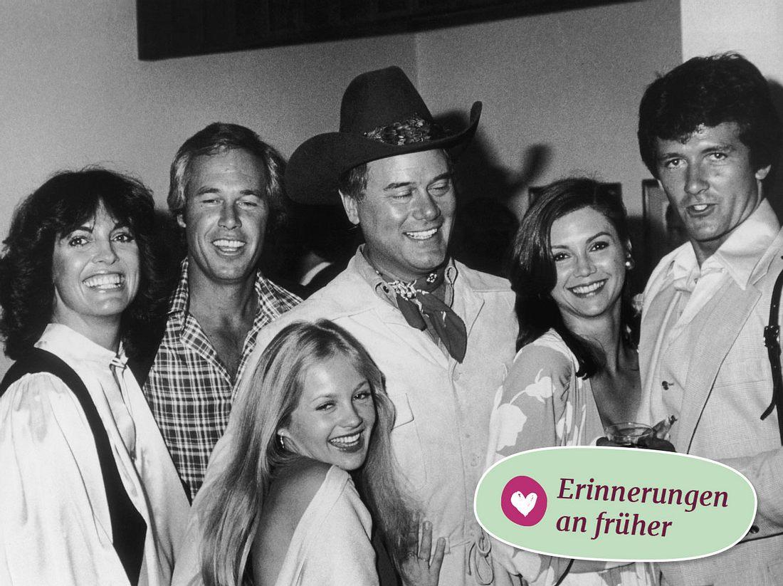 Erinnerungen an Dallas: So sahen die Stars der Serie damals aus.