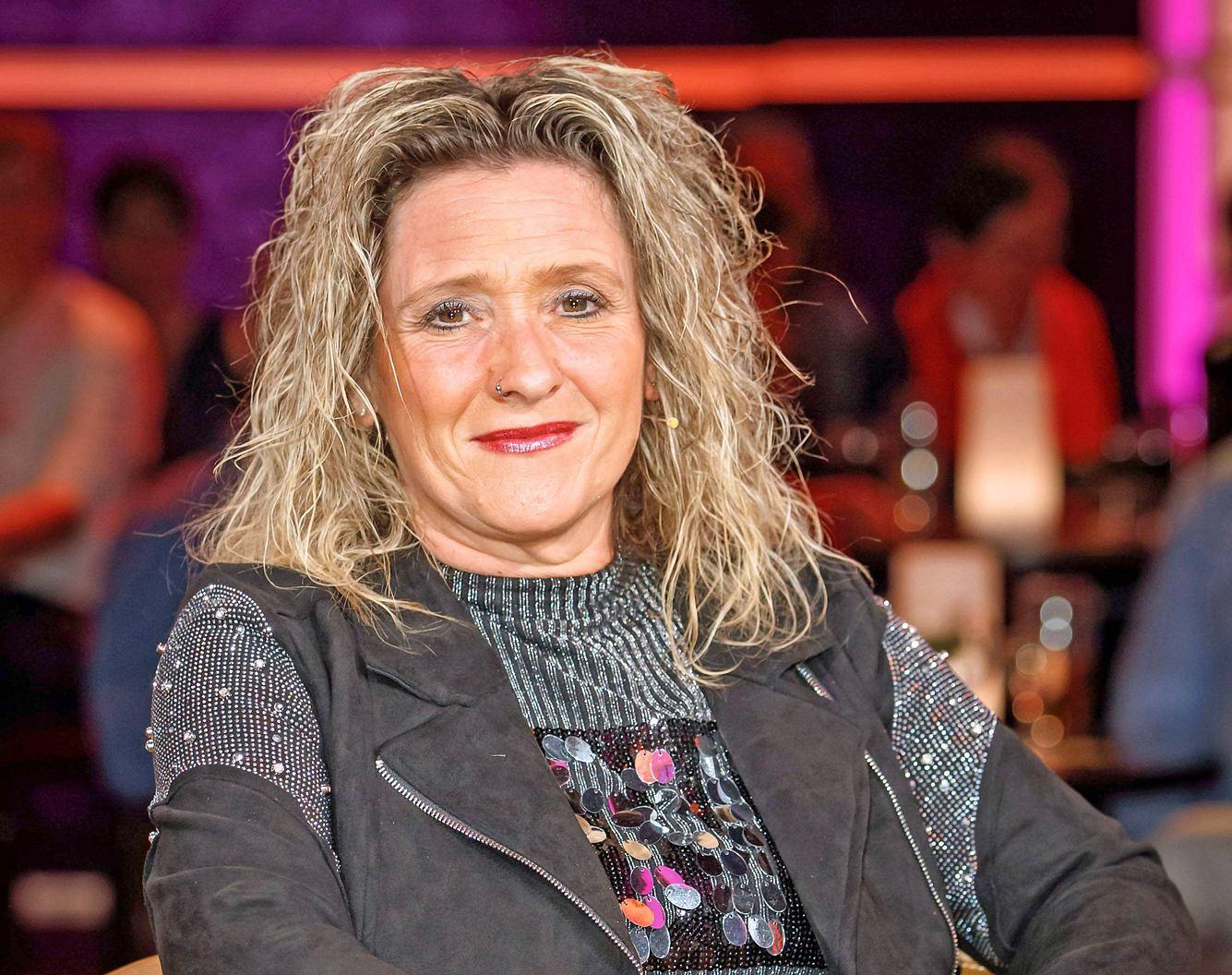 Sängerin Daniela Alfinito.
