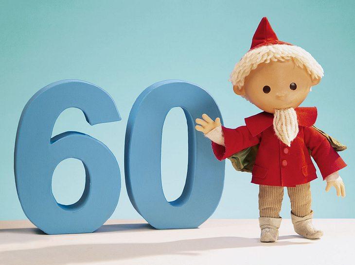Das Sandmännchen feiert seinen 60. Geburtstag.