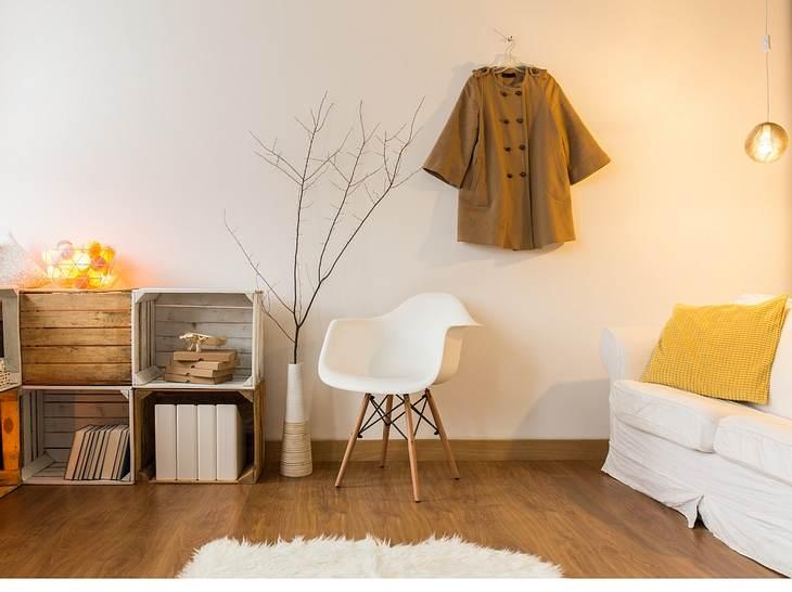 Skandinavische Deko aus Holz