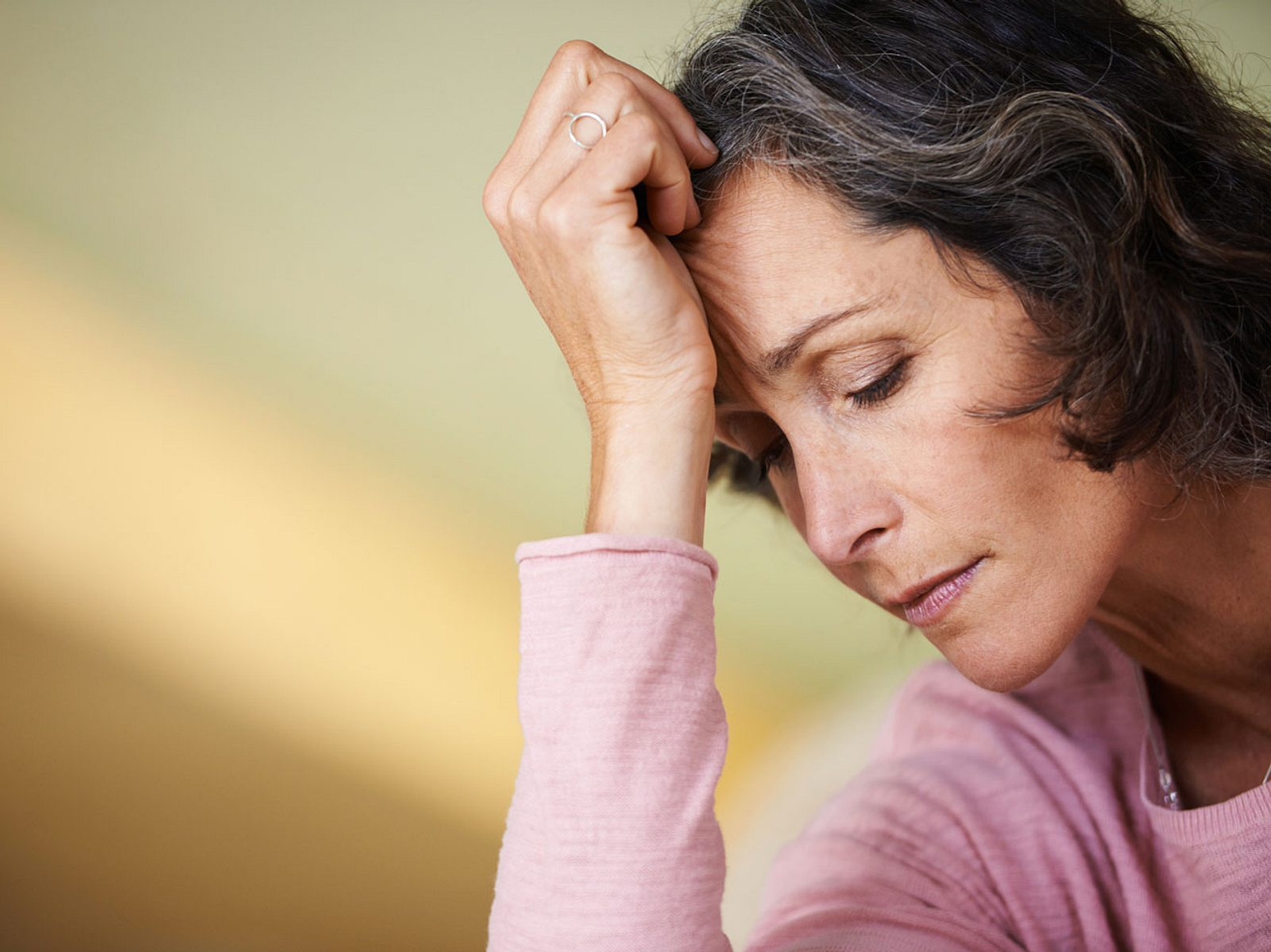 Depression in den Wechseljahren: Das können Sie dagegen