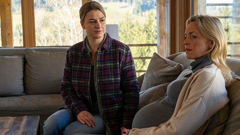 Anne und die schwangere Franziska.  - Foto: ZDF/Erika Hauri