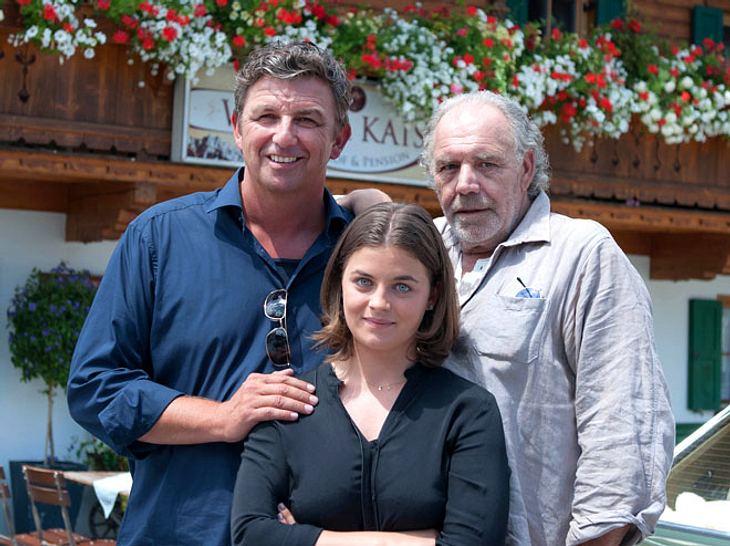 In der 11. Staffel von Der Bergdoktor ist Christian Kohlund als Onkel Ludwig Gruber neu dabei.