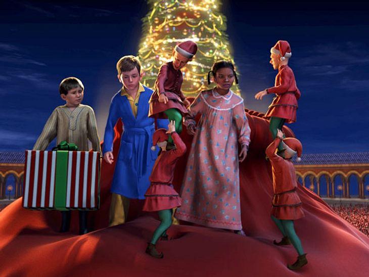 Der Polarexpress ist ein zuckersüßer Weihnachtsfilm.