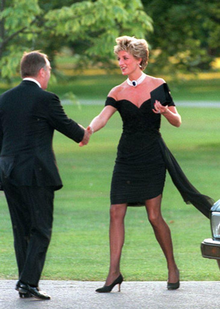 Diana im sogenannten Rache-Kleid.