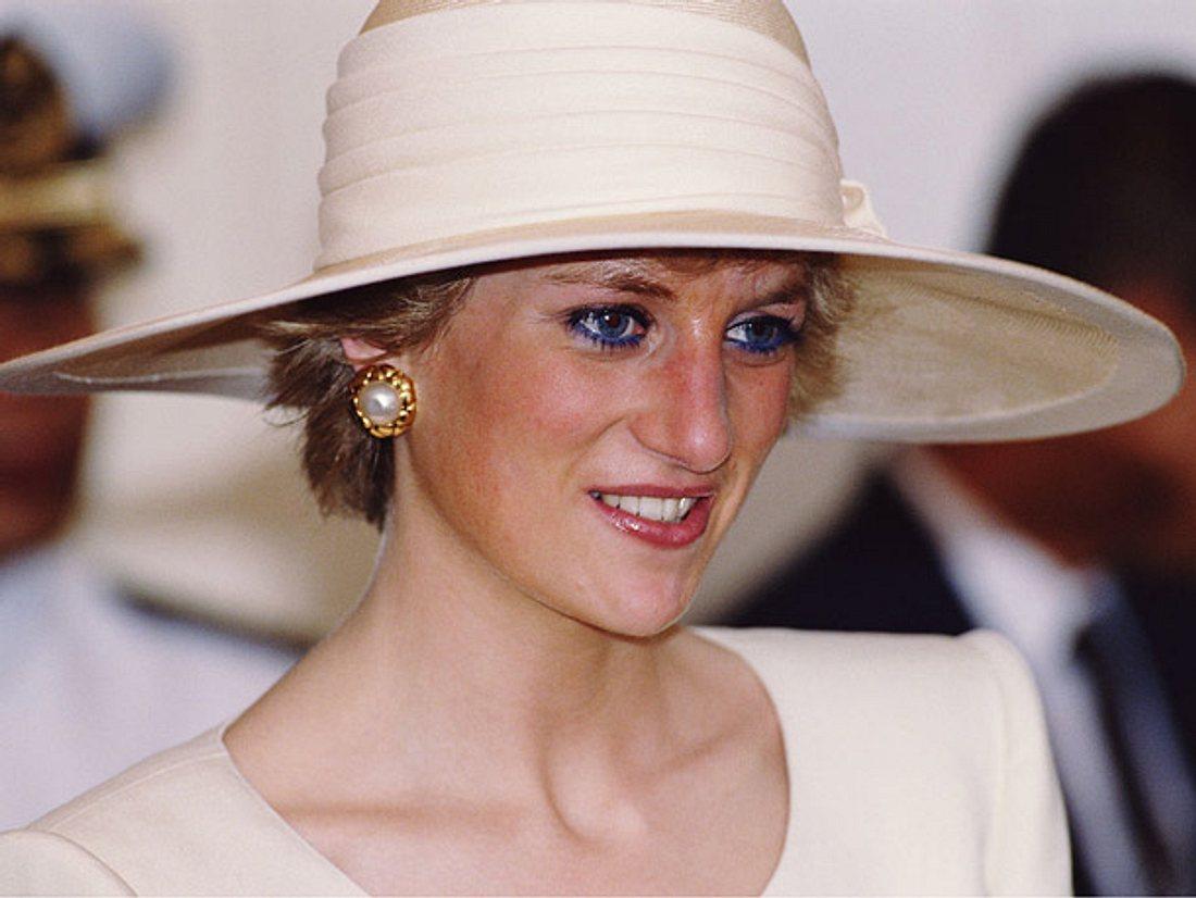 Prinzessin Diana bei einem Besuch in Jakarta 1989.