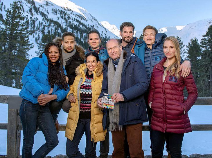 Derzeit wird ein 'Die jungen Ärzte'-Spielfilm-Spezial in Tirol gedreht.