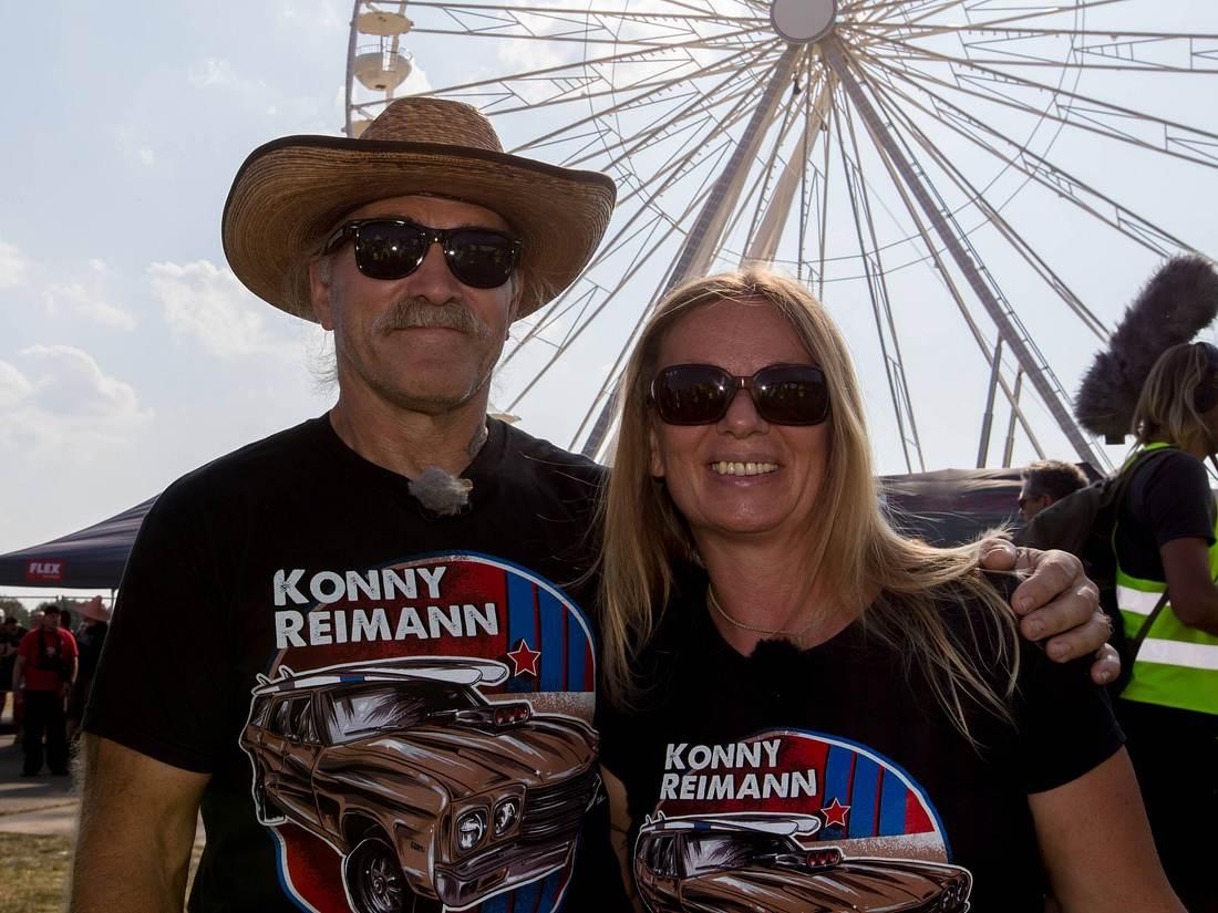 Konny und Manuela Reimann.