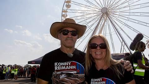 Konny und Manuela Reimann.  - Foto: IMAGO / Eibner