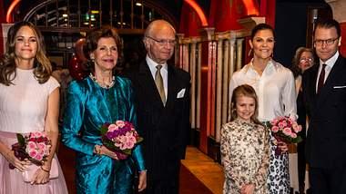 Die schwedische Königsfamilie nimmt an vielen Veranstaltungen teil. - Foto: Michael Campanella/GettyImages