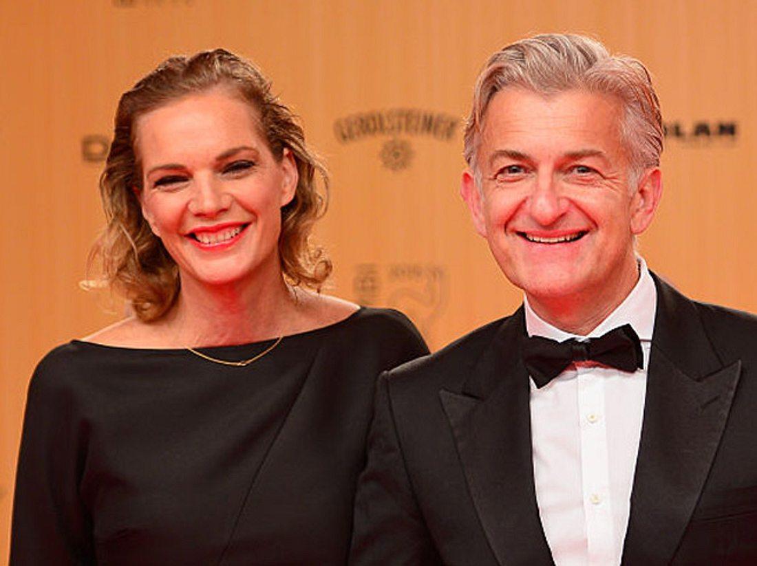 Honigfrauen-Star Dominic Raacke mit seiner Freundin Alexandra Rohleder.