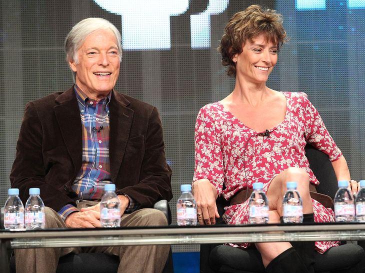 Die Dornenvögel-Stars Richard Chamberlain und Rachel Ward.