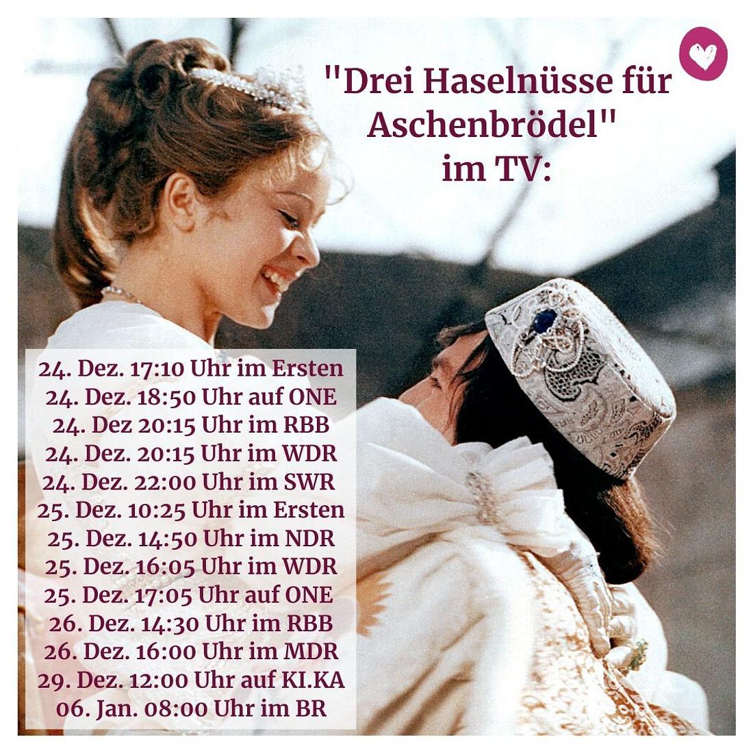 Sendetermine Aschenbrödel 2019