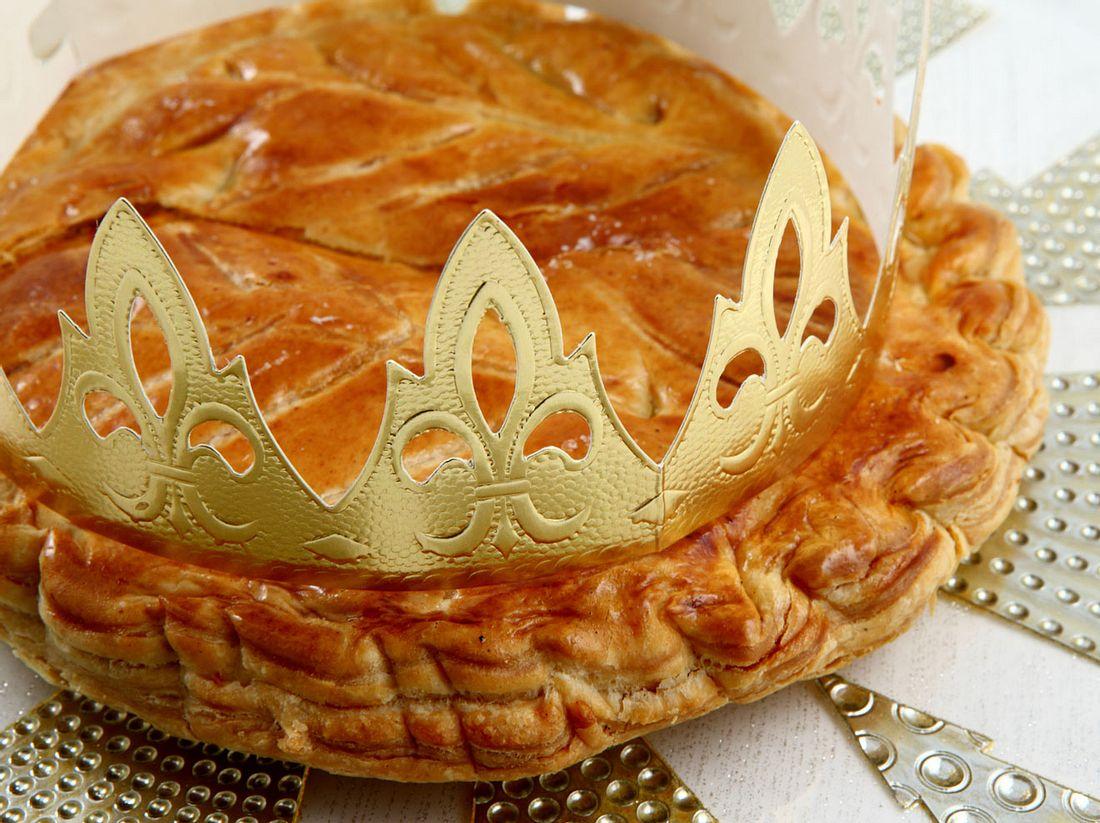 Der traditionelle Dreikönigskuchen