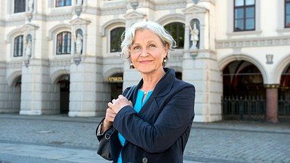 Edelgard Hansen in Lüneburg. - Foto: ARD / Nicole Manthey