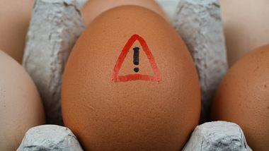 Eier können allergische Reaktionen hervorrufen.  - Foto: Ralf Liebhold / iStock
