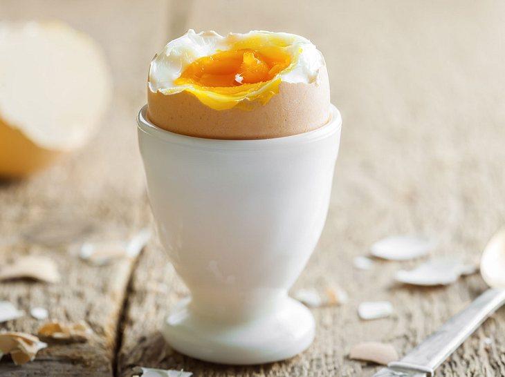 Schlank mit Eiern