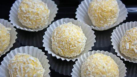 Eierlikör-Pralinen sind eine wahre Leckerei. So machen Sie sie selbst. - Foto: iStock / cook-and-style