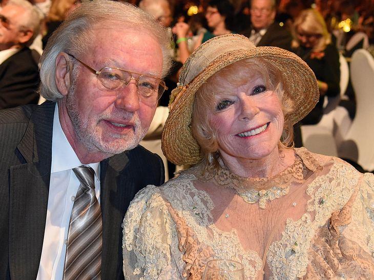 Elke Sommer und ihr Ehemann Wolf.