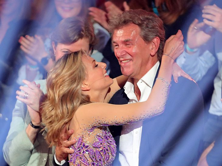Sängerin Ella Endlich und ihr Vater Norbert haben ein inniges Verhältnis.