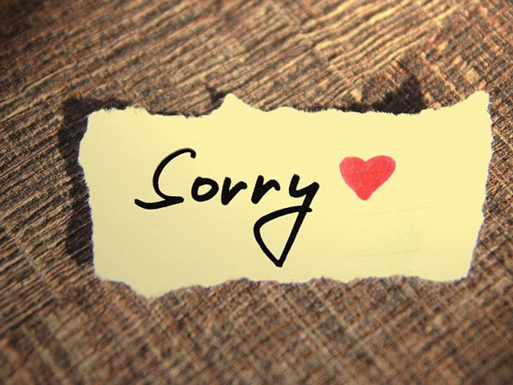 Entschuldigungen sind wichtig. Doch für manches muss man sich nicht entschuldigen.