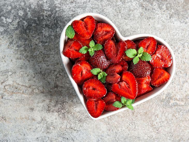 Erdbeeren sind nicht nur lecker, sondern auch gesund.
