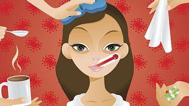 Hausmittel gegen Erkältung: So lindern Sie die Symptome. - Foto: inka_s / iStock