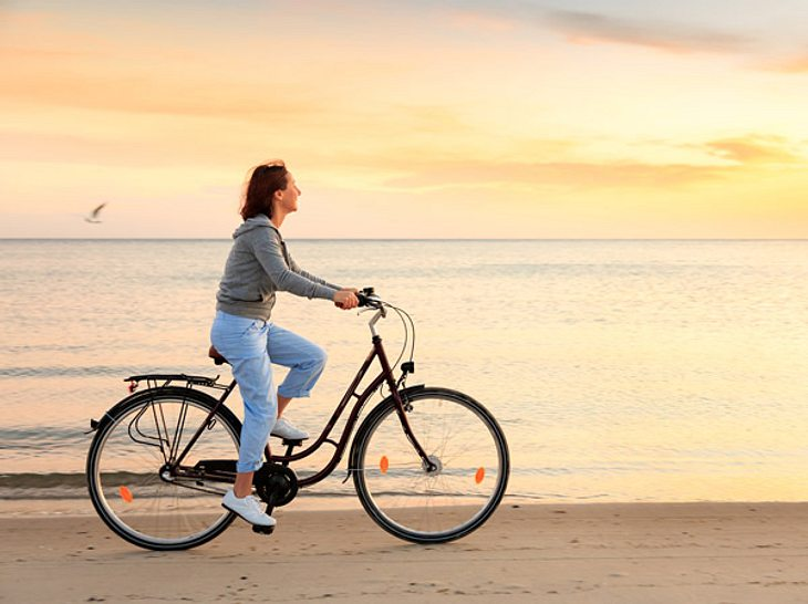 Das macht Fahrrad fahren für unsere Fitness