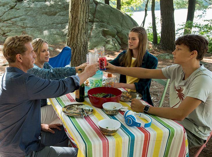 Der Camping-Urlaub stellt die Familie Grant auf eine harte Probe.
