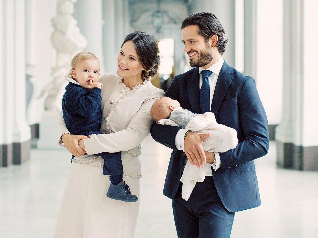 Sofia von Schweden: Das erste Familienfoto zu viert!