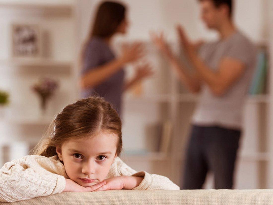 Sorgen Sie bei einer Scheidung nicht für unnötigen Stress für die Kinder.