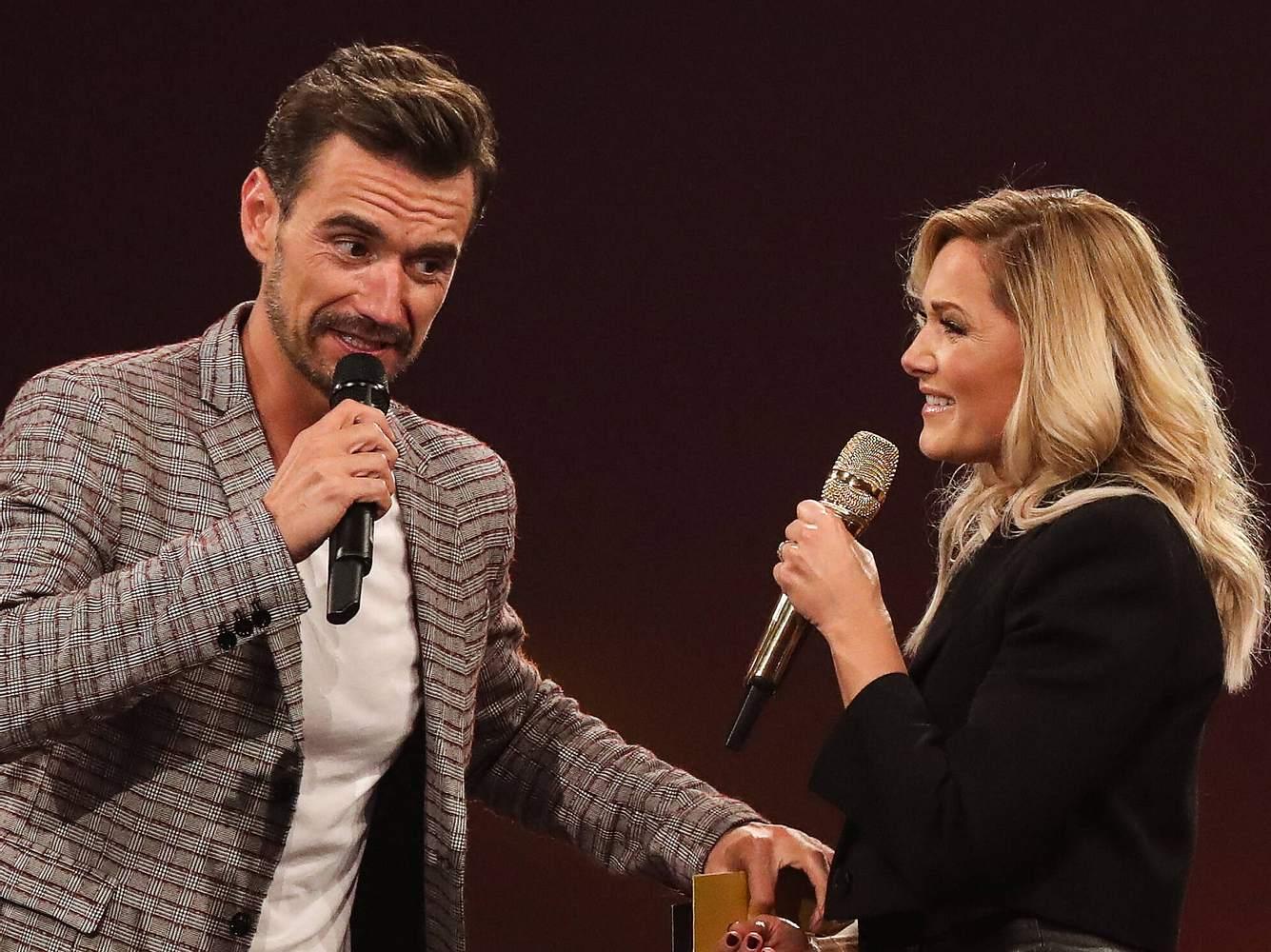 Florian Silbereisen und Helene Fischer bei einer Schlagershow im Jahre 2019.