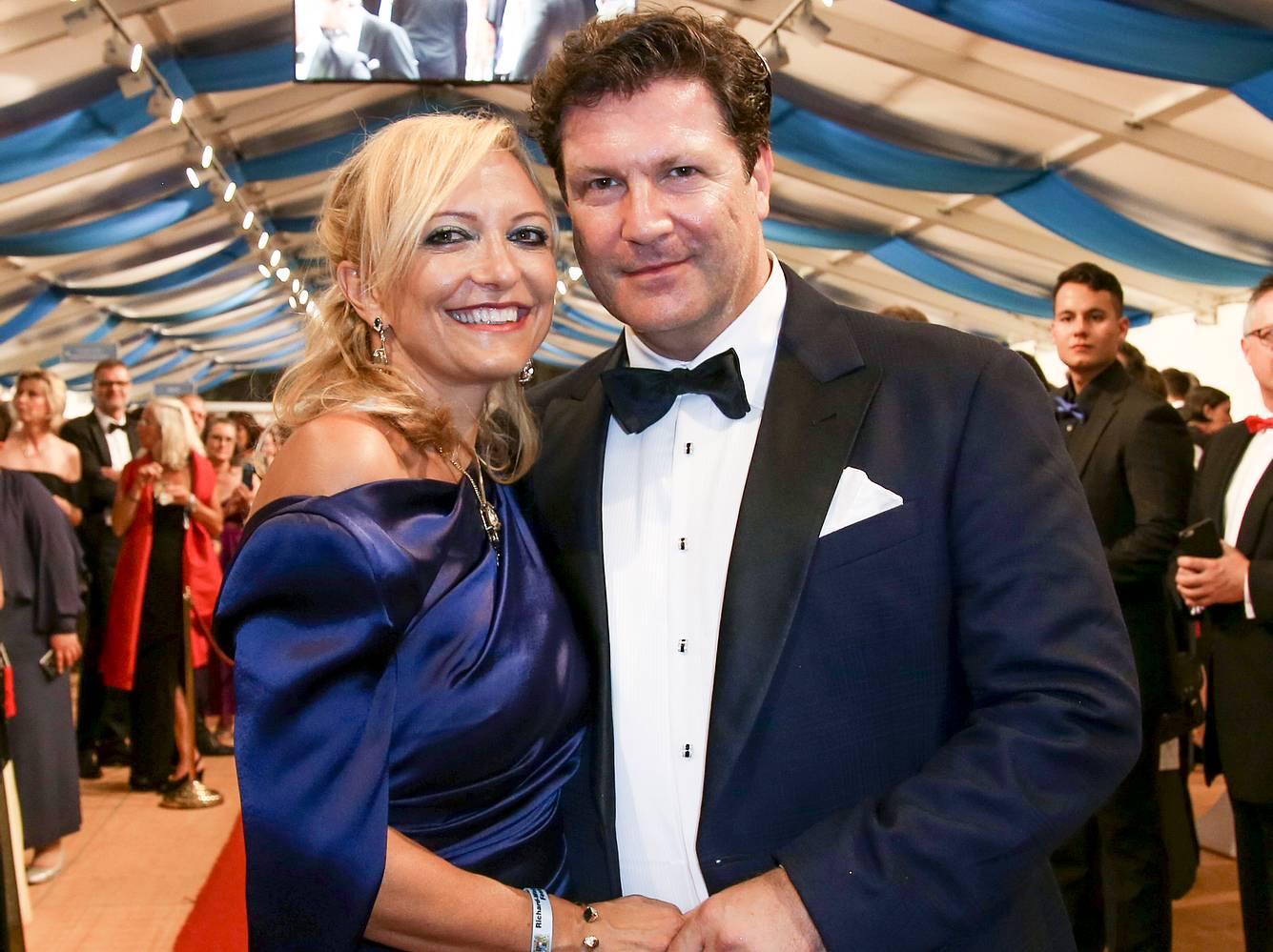 Francis Fluton-Smith und Claudia Hillmeier