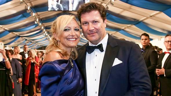 Francis Fluton-Smith und Claudia Hillmeier - Foto:  Getty Images / Freier Fotograf