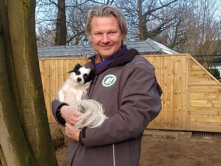 Frank Weber ist Tierheimleiter und Moderator von hundkatzemaus.