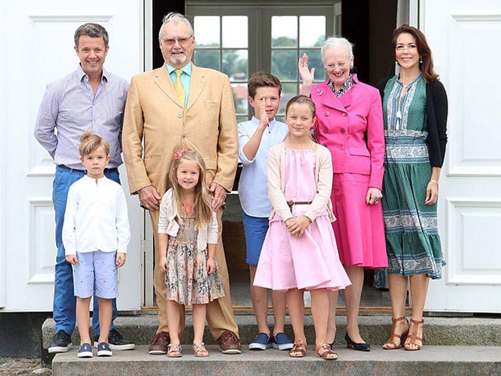 Familienfoto der dänischen Royals.