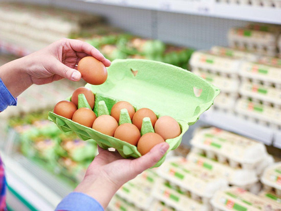 Freilandeier Mangel im Supermarkt