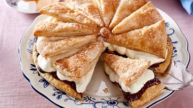 Friesentorte mit Pflaumenmus. - Foto: House of Food