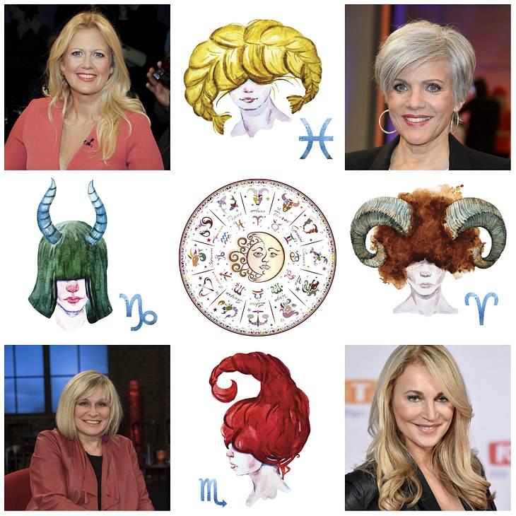 Ihr Sternzeichen könnte Ihnen verraten, welche Frisur Ihnen am besten steht.