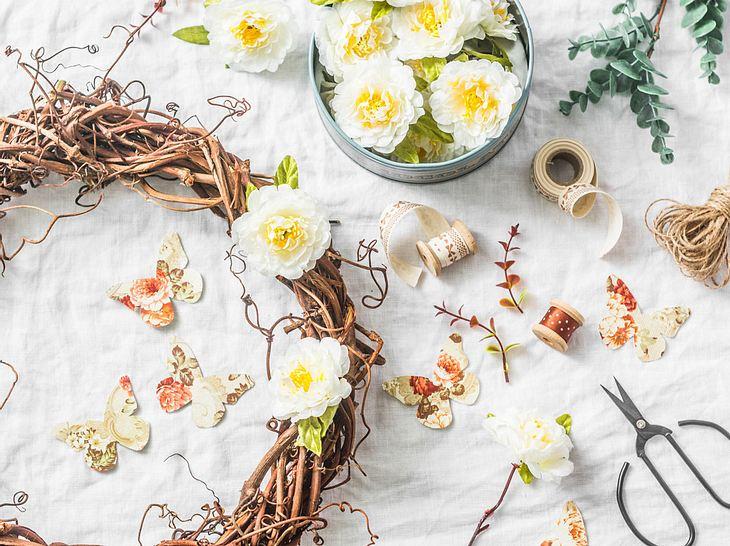 Tolle Bastelideen für Frühlingsdeko zum Selbermachen