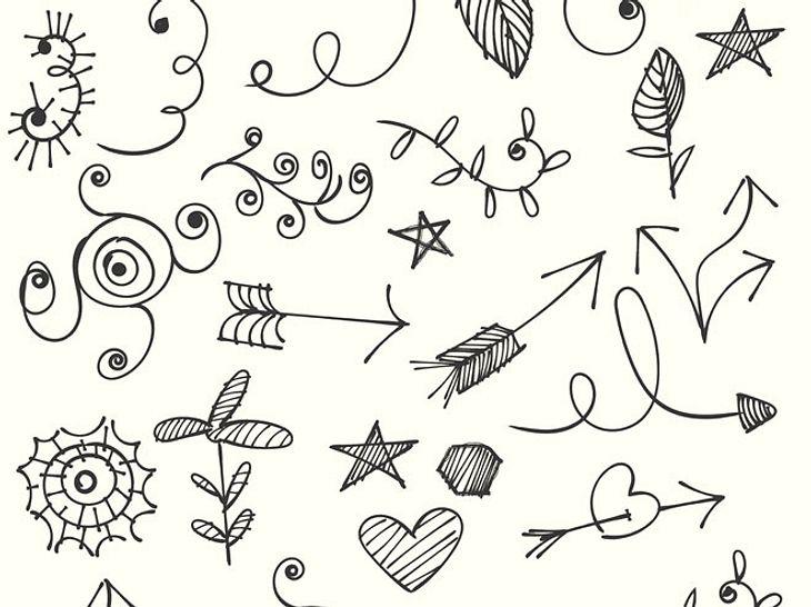 Was sagen Herzen, Blumen oder andere Motive, die Sie nebenbei kritzeln, über Ihre Persönlichkeit aus?