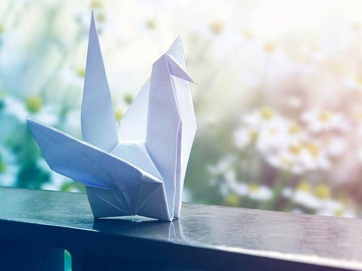 Basteln für die Seele - Origami